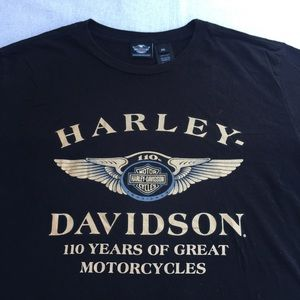 Harley Davidson 110 Years T shirt